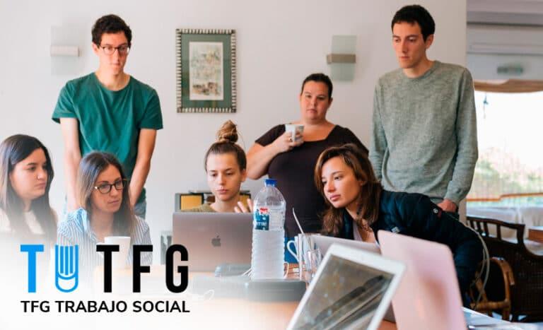 tfg trabajo social, hacemos trabajos universitarios, tfm trabajo social