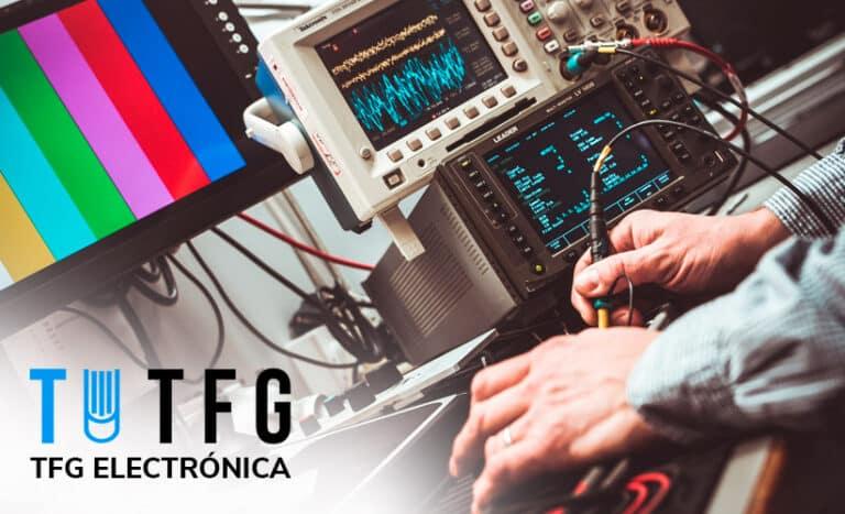 tfg electrónica / TFM electrónica
