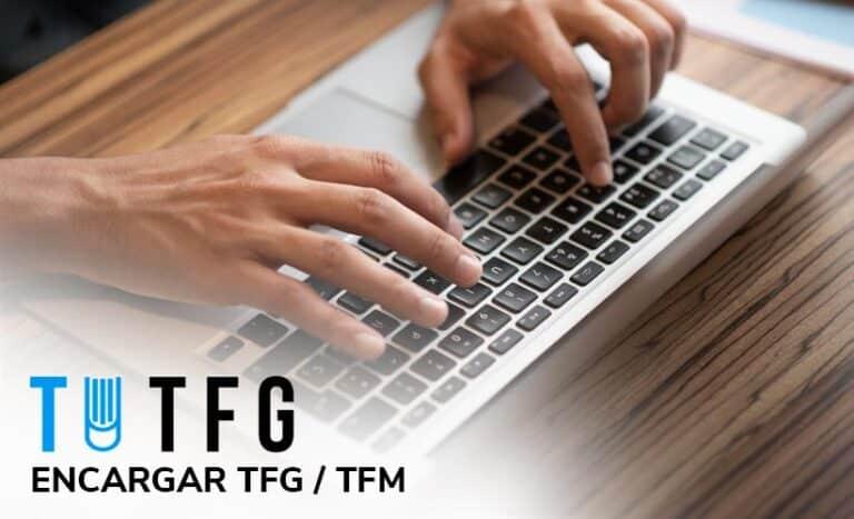 Encargar TFG o Encargar TFM en TUTFG