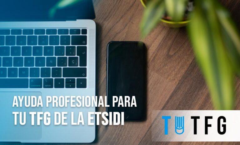 Ayuda profesional para tu TFG de la Etsidi
