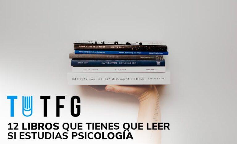 12 libros que tienes que leer si estudias psicología