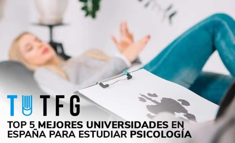 Top 5 mejores universidades en España para estudiar Psicología